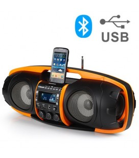 Station d'Accueil Super Radio MP3 Bluetooth AudioSonic RD1549