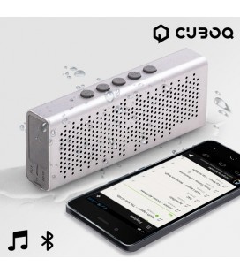 Enceinte Bluetooth Waterproof CuboQ Metal
