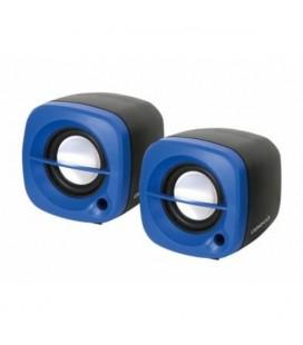 Haut-parleurs de PC 2.0 Omega OG15BL 6W USB Bleu
