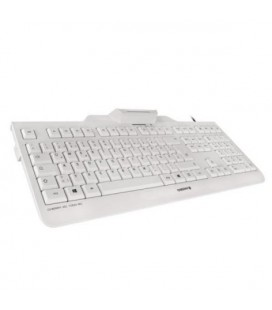 Clavier avec lecteur Cherry JK-A0100ES-0 Blanc