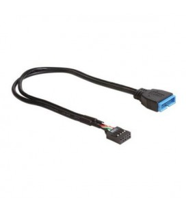 Câble USB DELOCK 83281 30 cm Noir