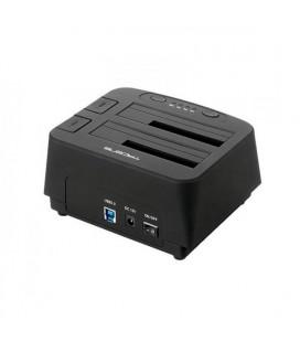 "Dock Station Dual Tacens 5PORTUMDUO2 2.5""""-3.5"""" SATA USB 3.0 Noir"