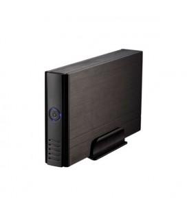 """Boîtier Externe TooQ TQE-3520B HD 3.5"""""""" IDE / SATA III USB 2.0 Noir"""