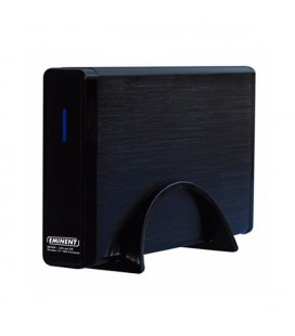 "Boîtier Externe Eminent EW7047 2.5"""" - 3.5"""" IDE / SATA USB 2.0 Noir"