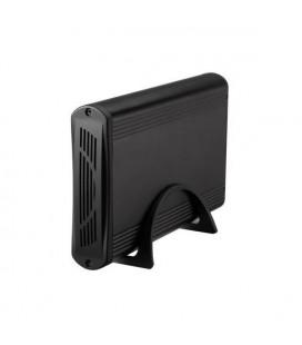"""Boîtier Externe TooQ TQE-3526B HD 3.5"""""""" SATA III USB 3.0 Noir"""