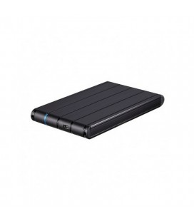 """Boîtier Externe TooQ TQE-2530B HDD 2.5"""""""" SATA III USB 3.0 Noir"""