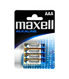 Piles Alcalines Maxell LR03-MN2400 AAA 1,5 V