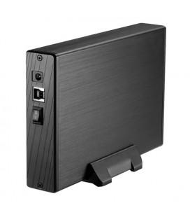 """Boîtier Externe TooQ TQE-3527B HDD 3.5"""""""" SATA III USB 3.0 Noir"""