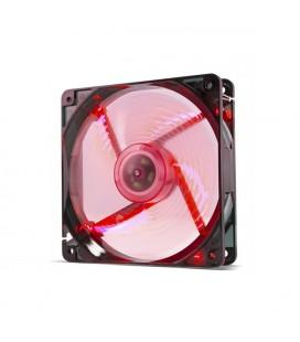 Ventillateur de cabine NOX NXCFAN120LR Cool Fan 12 cm LED Rouge