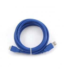 Câble USB 3.0 A vers Micro USB B iggual IGG312162 1,8 m
