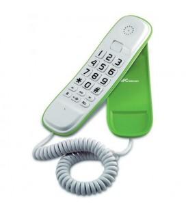 Téléphone fixe Telecom 3601V Blanc