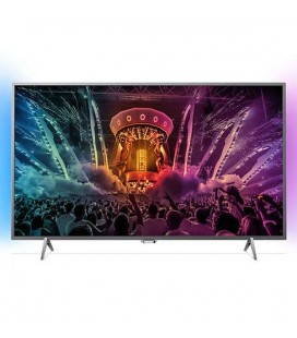 "TV intelligente Philips 55PUS6401 Series 6000 55"""" LED 4K Ultra HD 8 GB Wifi"