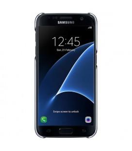 """Protection pour téléphone portable Samsung Clear Cover EF-QG930 5.1"""""""" Noir"""