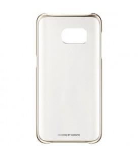 "Protection pour téléphone portable Samsung Clear Cover EF-QG935 5.1"""" Or"