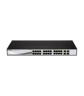 Switch D-Link DGS-1210-24P 24 p 10 / 100 / 1000 Mbps 4 x SFP