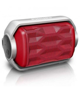 Haut-parleur portable Bluetooth Philips BT2200R/00 2,8W Rouge