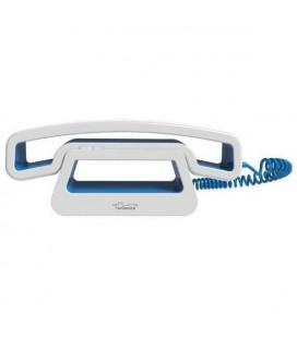 Casque avec Base pour Smartphones ePure CH01 Bleu Blanc