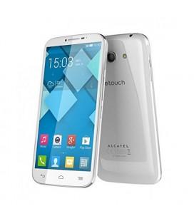 """Téléphone portable Alcatel C9 Onetouch 5.5"""""""" 3G 4 GB Quad Core Blanc"""
