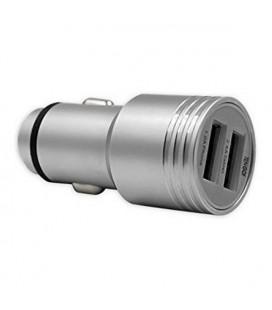 Chargeur de voiture TenGO! RT3115BT 2 USB Métal