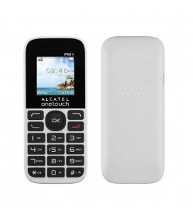 """Téléphone portable Alcatel 1016D Onetouch 1.8"""""""" 2G 4 MB Blanc"""