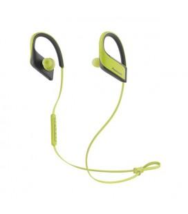 Écouteurs de Sport Bluetooth avec Microphone Panasonic RP-BTS30E Jaune