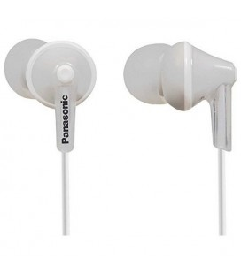Casque Panasonic RP-HJE125E in-ear Blanc