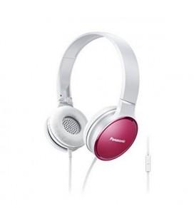 Casques avec Microphone Panasonic RP-HF300ME Rose Serre-tête