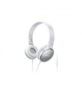 Casques avec Microphone Panasonic RP-HF300ME Blanc Serre-tête