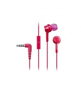 Casques avec Microphone Panasonic RP-TCM105E in-ear Rose