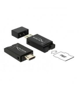 Lecteur de Cartes DELOCK 91738 OTG micro-USB USB 2.0 micro