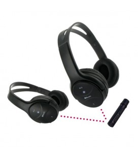 Casques Bluetooth avec Microphone BeeWi BBX202A0 (2 pcs) Noir