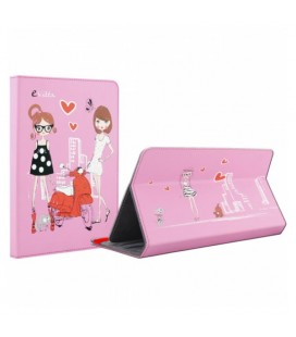 "Protection pour tablette E-Vitta FASHION GIRLS 9.7""""-10.1"""" Rose"