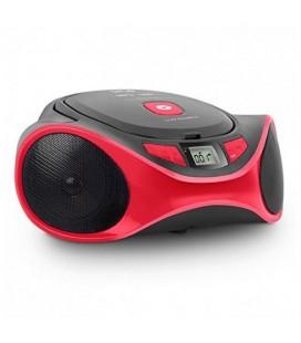 Radio-CD MP3 SPC 4501R CLAM BOOMBOX USB Rouge
