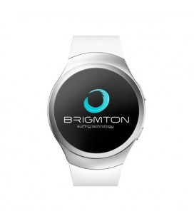 "Montre intelligente BRIGMTON BWATCH-BT5 1.2"""" 54 g Blanc"
