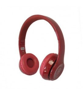 Casques Bluetooth avec Microphone Omega Freestyle FH0915R Rouge