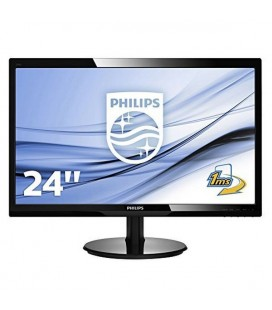 "Philips 246V5LHAB Moniteur 24"""" Led 16:9 5ms MM HDMI"