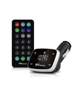 Lecteur MP3 pour Voiture SPC 8150N LCD SD USB Noir