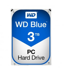 "Disque dur Western Digital Blue WD30EZRZ 3.5"""" 3 TB Sata III 5400 rpm Buffer 64 MB"
