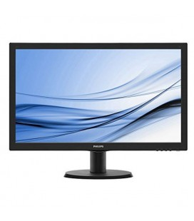 "Philips 243V5LHSB Moniteur 24"""" Led 16:9 VGA DVI HDM"