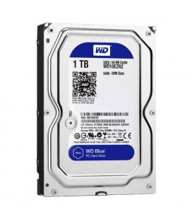 "Disque dur Western Digital Blue WD10EZRZ 3.5"""" 1 TB Sata III 5400 rpm Buffer 64 MB"