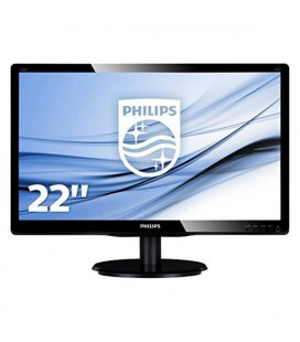 "Philips 223V5LSB2 Moniteur 21.5"""" Led 16:9 5ms Slim"