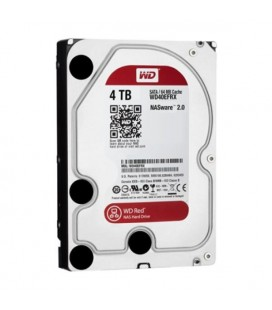 "Disque dur Western Digital Red WD40EFRX 3.5"""" 4 TB Sata III 5400 rpm Buffer 64 MB"