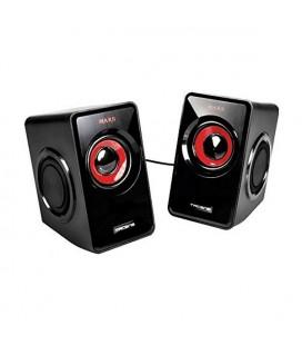 Haut-parleurs pour jeu Tacens MS1 MS1 Noir Rouge
