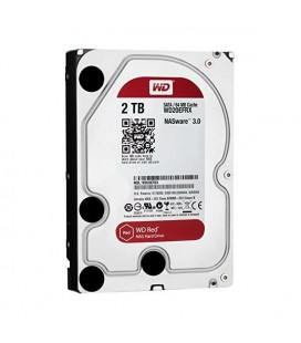 "Disque dur Western Digital Red WD20EFRX 3.5"""" 2 TB Sata III 5400 rpm Buffer 64 MB"