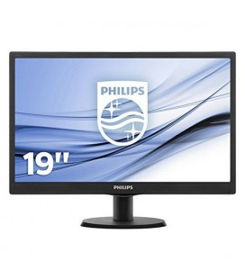"Philips 193V5LSB2 Moniteur 18.5"""" Led 16:9 5ms"