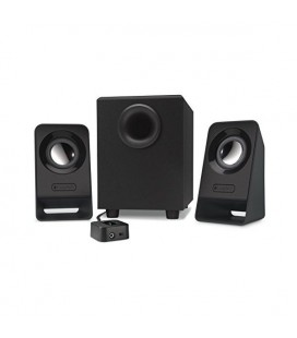 Haut-parleurs multimedia Logitech Z213 2.1 60W Subwoofer 200 mV Noir