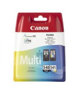 Cartouche d'Encre Originale (lot de 2) Canon PG-540/CL541 Tricolore Noir