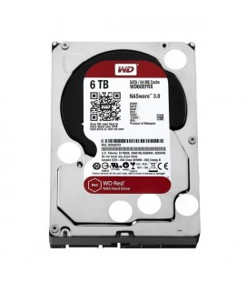 "Disque dur Western Digital Red WD60EFRX 3.5"""" 6 TB Sata III 7200 rpm"