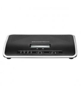 Standard téléphonique ip Grandstream UCM6202 2FXS 2FXO USB SD Noir