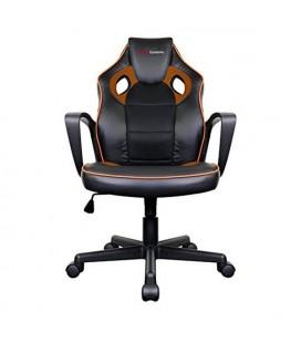 Chaise de jeu Tacens MGC0BO Métal PVC Noir Orange